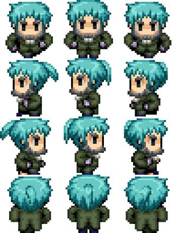 RPG Maker Vx Ace Characters by Lanto (SinisterMuffin)