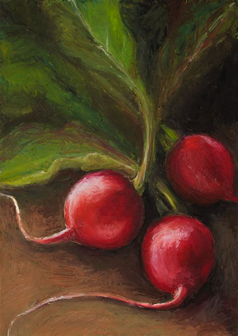 Fruit and Veggie Paintings on Behance
