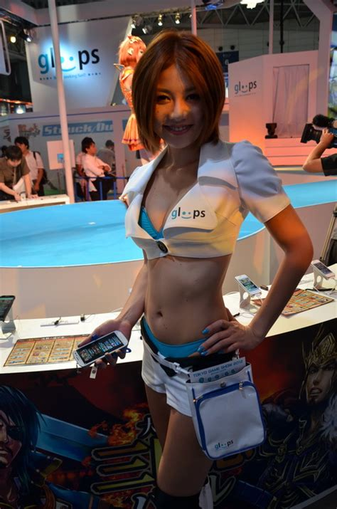 Booth Babes of TGS 2012 – Capsule Computers