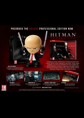 Hitman - Absolution - Deluxe Professional Edition - PC