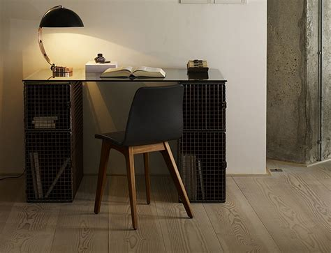 Industrial style furniture with wire mesh   Homegirl London