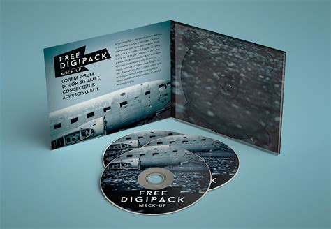 FREE 42+ PSD CD/DVD Cover Mockups in PSD | InDesign | AI