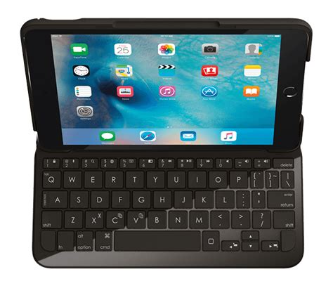 Logitech Focus keyboard case and AnyAngle stand for iPad