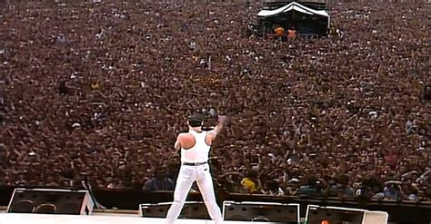 Queen Put On Legendary Performance At Live Aid In 1985