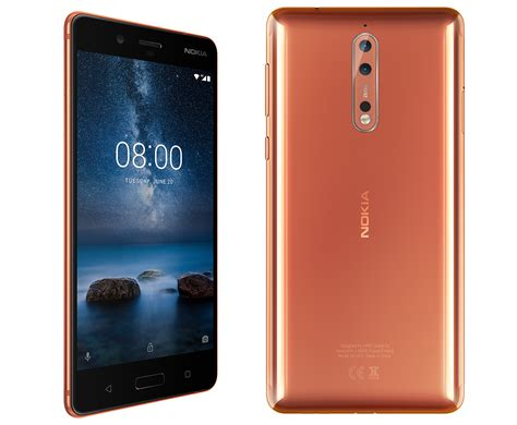 Nokia 8 receiving Android 8