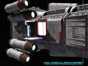 Coolhand: Big Spaceships 004 - Columbia Class Carrier