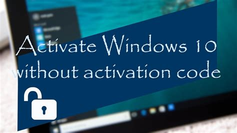 Windows 10 Activation free 2018 updated (without