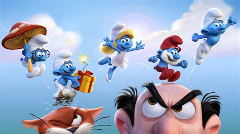 Wallpaper Get Smurfy, Best Animation Movies of 2017