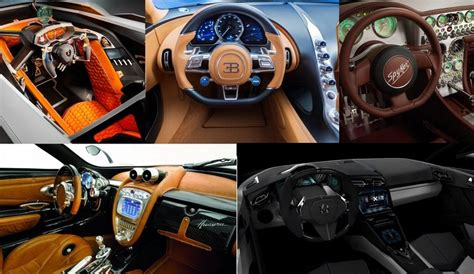What Are The Craziest Supercar Interiors That Money Can