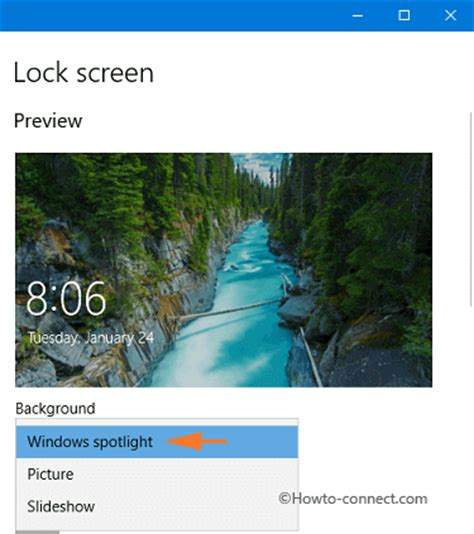 How to Set Spotlight Lock Screen Image as Wallpaper on