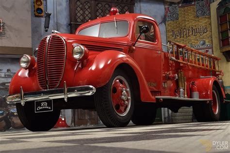 Classic 1938 Ford F-3 Fire Truck for Sale - Dyler