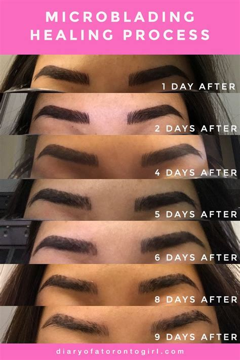 My Microblading Experience   Permanent makeup eyebrows