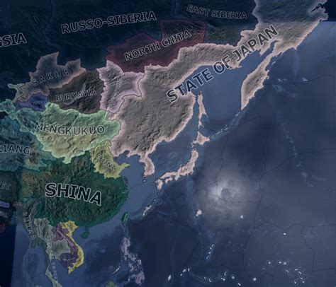 The Greater Japanese Co-Prosperity Sphere image - The New