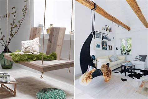 24 Examples of Indoor Swings Turn Your Home Into a