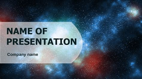 Download free Starry Night PowerPoint template for your