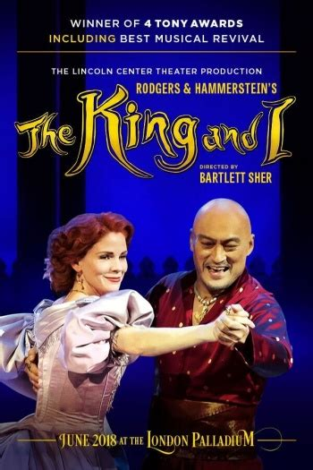 The King and I tickets including dinner packages & cheap