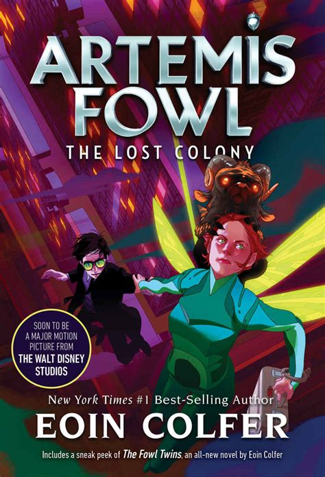 Artemis Fowl and the Lost Colony (novel) | Artemis Fowl