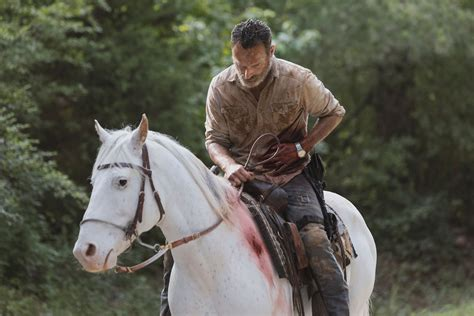 The Walking Dead: Andrew Lincoln on Rick Grimes' last