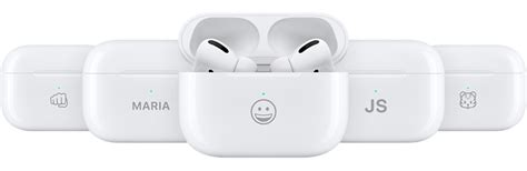 Now you can personalise your AirPods Pro case with emojis