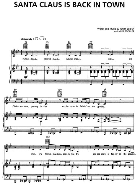 Santa Claus Is Comin To Town Violin Sheet Music Easy