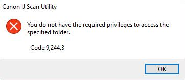 Canon Knowledge Base - Error: You Do Have Required