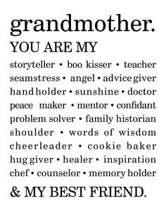 Quotes To Say To Your Grandma