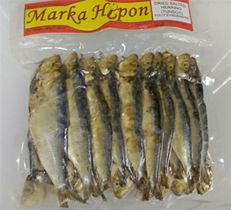 Marca Hipon Dried Salted Herring or Tunsoy Eviscerated 7