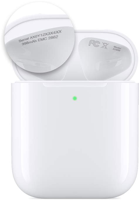 Find the serial number of your AirPods - Apple Support