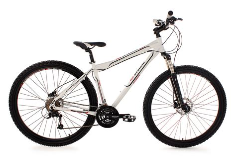 """B-WARE MTB HARDTAIL 29"""" WEISS VELOCITY 46 cm HYDR"""