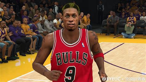 Dennis Rodman 5 Hair Colors, Face and Body Model By Youth