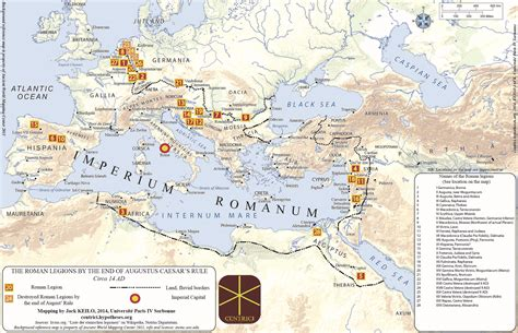 """Mapping Roman legions: how """"limits"""" tell about the centre"""