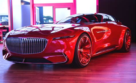 Mercedes-Maybach Shows Outrageous Electric Ultra-Luxury