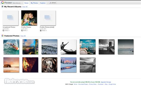 Picasa Web Albums - Store your photos, find your contacts