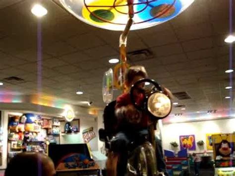 Chuck E Cheese Bicycle Helicopter - YouTube