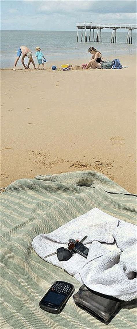 Theft at the beach and pool when vacationing
