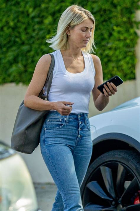 Street Style - Julianne Hough Out And About In West