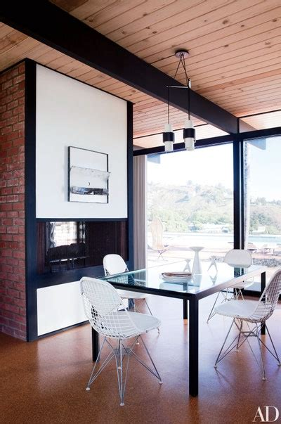 10 Midcentury-Modern Dining Rooms   Architectural Digest