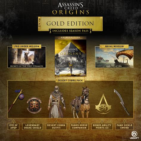 Buy Assassin's Creed® Origins Gold Edition for PC