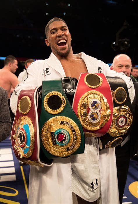 Anthony Joshua to vacate belts: Sky Sports pundit makes