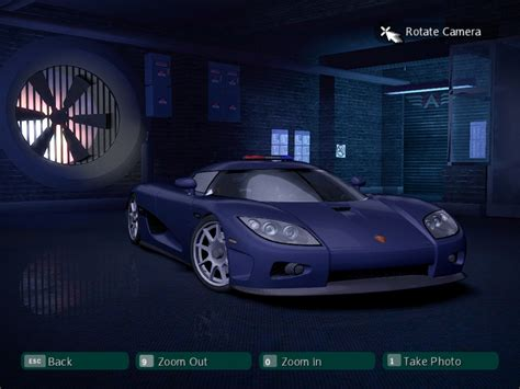 Need For Speed Carbon Koenigsegg CCXR Police | NFSCars
