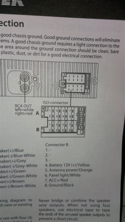 Help please: wiring for stereo - VW T4 Forum - VW T5 Forum