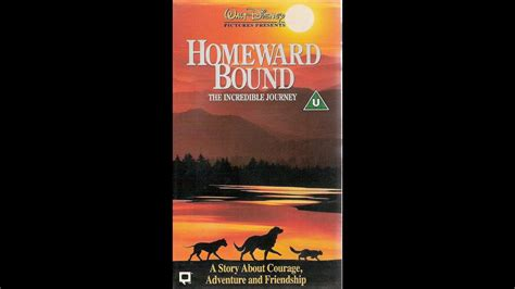 Digitized opening to Homeward Bound: The Incredible