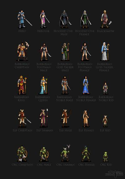 RedCastle Interactive - Character Sprites 2 by Serathus