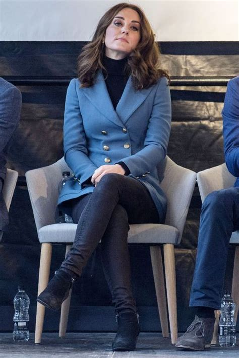 Meghan Markle Crossed Her Legs at a Royal Function — But