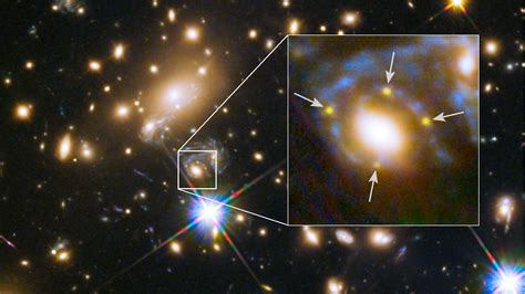 Supernova star image tests Einstein's general theory of