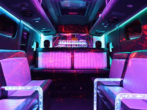20 seater party bus limo coach hire for affordable travel