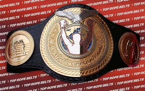 TRB Heavyweight Boxing Title | Top Rope Belts