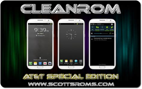 CleanROM for AT&T Galaxy Note 2 - Android 4