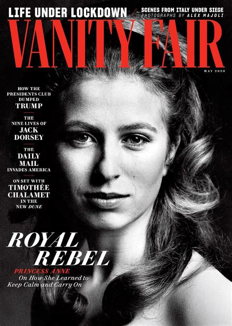 Princess Anne covers Vanity Fair to mark her upcoming 70th
