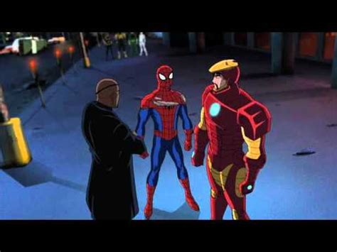 Spider-Man meets Ironman - Ultimate Spider-Man - YouTube